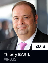 2013 : Thierry BARIL - EADS AIRBUS